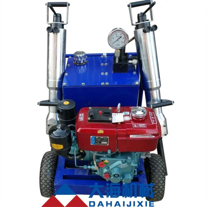 柴油马达劈石机